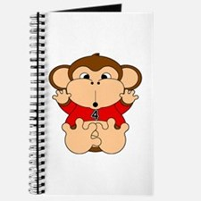 Four Year Old Monkey Journal