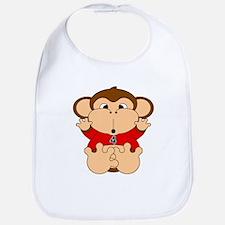 Four Year Old Monkey Bib