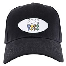 Colorful Foursome Baseball Hat