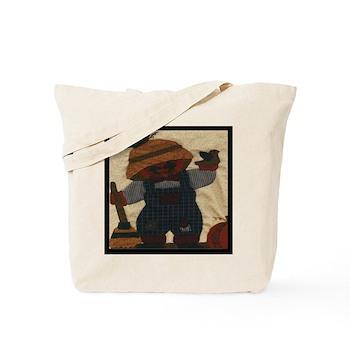 Scarecrow Quilt Tote Bag