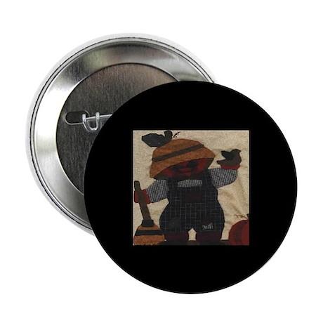 Scarecrow Quilt Button