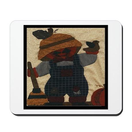 Scarecrow Quilt Mousepad