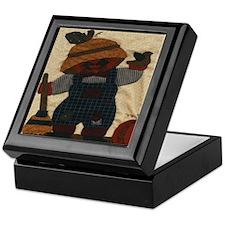 Scarecrow Quilt Keepsake Box
