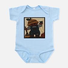 Scarecrow Quilt Infant Creeper