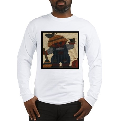 Scarecrow Quilt Long Sleeve T-Shirt