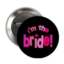 "Shades of Pink Bride 2.25"" Button"