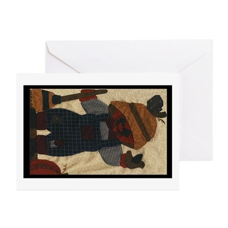 Scarecrow Quilt Greeting Cards (Pk of 10)