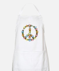 Peace Flowers Apron