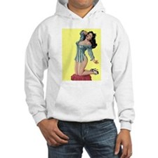 Pajamas Girl Hoodie