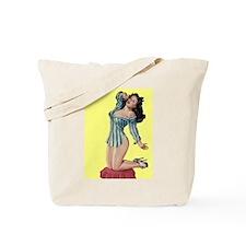 Pajamas Girl Tote Bag