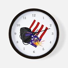 Welder Wall Clock