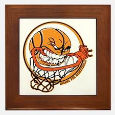 Insane for Basketball Framed Tile