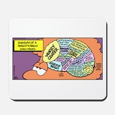 Parent's Brain Mousepad