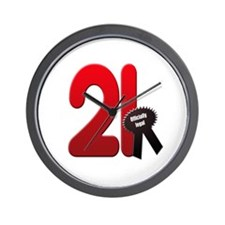 21 officially legal Wall Clock