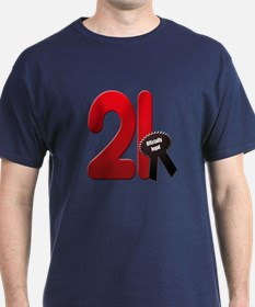21 officially legal T-Shirt