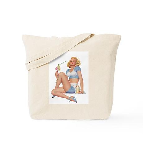 Lemonade Girl Tote Bag