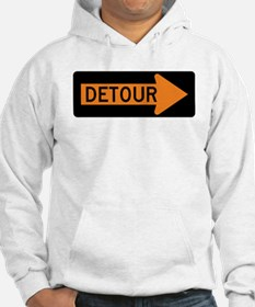 Detour Right Hoodie