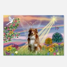 Cloud Angel / Aussie (rm) Postcards (Package of 8)