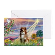 Cloud Angel / Aussie (rm) Greeting Cards (Pk of 10