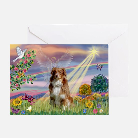 Cloud Angel / Aussie (rm) Greeting Card