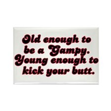 Young Enough Gampy Rectangle Magnet (10 pack)