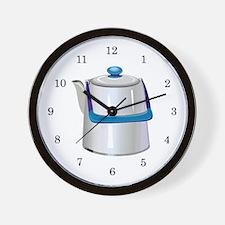Coffee Pot Wall Clock