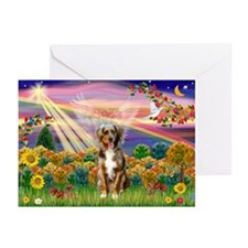 Autumn Angel / Aussie (rm) Greeting Cards (Pk of 1