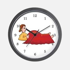 Midwife and Doula Wall Clock