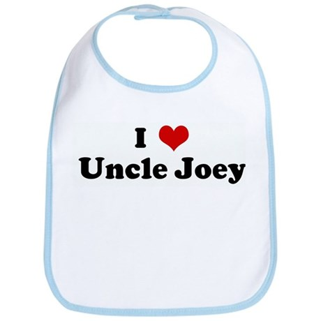 I Love Uncle Joey Bib