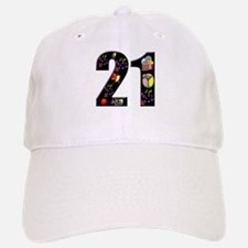 21st birthday Baseball Baseball Cap