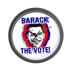 BARACK THE VOTE! Wall Clock