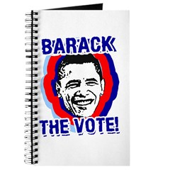 BARACK THE VOTE! Journal