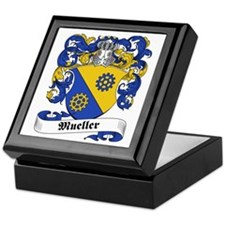 Mueller Family Crest Keepsake Box