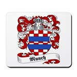 Munch Family Crest Mousepad