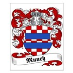Munch Family Crest Small Poster