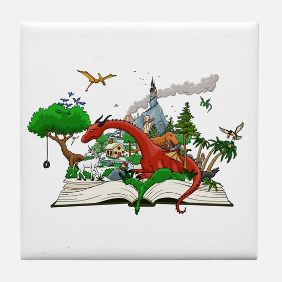 Reading is Fantastic! Tile Coaster