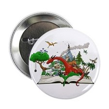 "Reading is Fantastic! 2.25"" Button"