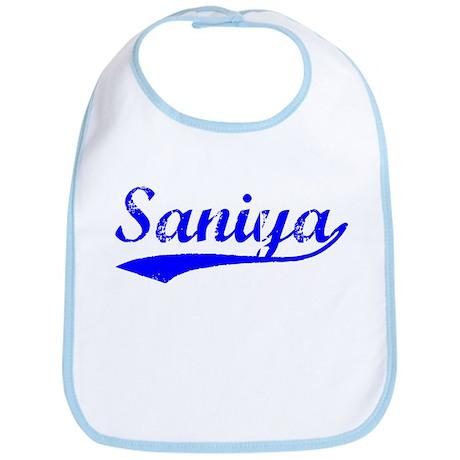 Vintage Saniya (Blue) Bib