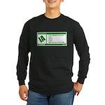 Rated Irish Long Sleeve Dark T-Shirt