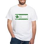 Rated Irish White T-Shirt