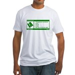 Rated Irish Fitted T-Shirt