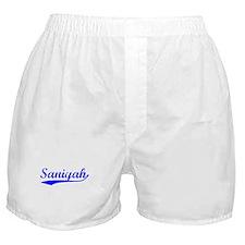 Vintage Saniyah (Blue) Boxer Shorts
