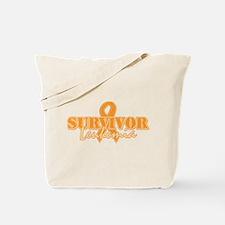 Survivor - Leukemia Tote Bag