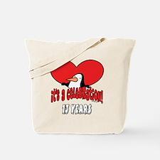 13th Celebration Tote Bag