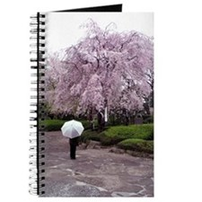 Cherry Blossoms-Umbrella Journal