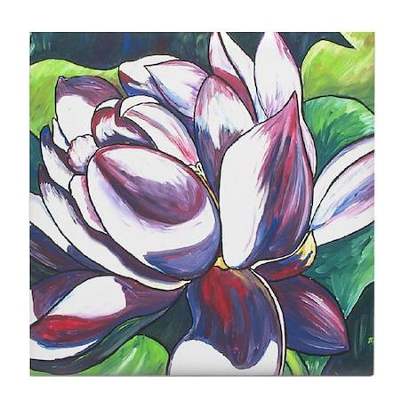 Lotus Tile Coaster