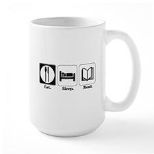 Eat. Sleep. Read. Mug