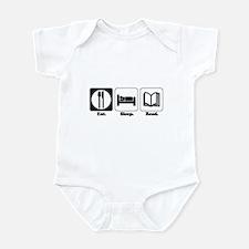 Eat. Sleep. Read. Infant Bodysuit