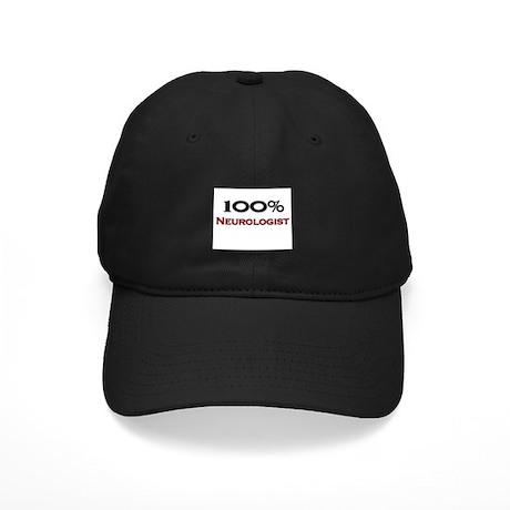 100 Percent Neurologist Black Cap