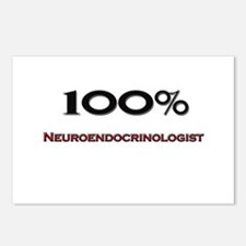 100 Percent Neuroendocrinologist Postcards (Packag